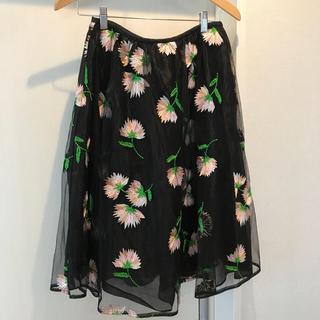 Chesty - チェスティ お花柄スカート