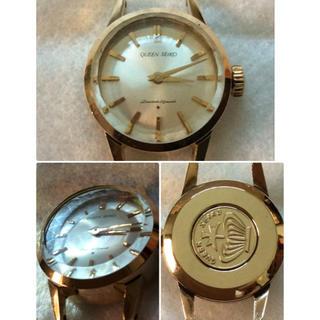 セイコー(SEIKO)のビンテージ良品‼️初代王冠メダリオン QUEEN SEIKO 手巻き 腕時計(腕時計)