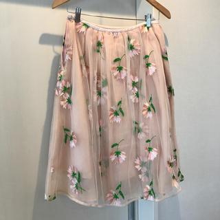 チェスティ(Chesty)のチェスティ お花柄スカート(ひざ丈スカート)