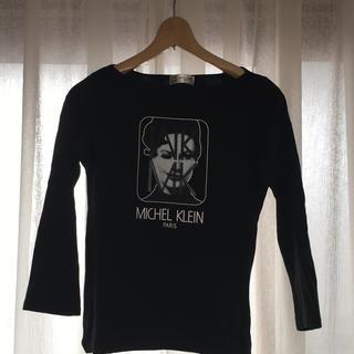 ミッシェルクラン(MICHEL KLEIN)のミッシェルクラン ロンT 長袖 黒 レディース(Tシャツ(長袖/七分))