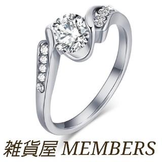 送料無料9号クロムシルバースーパーCZダイヤデザイナーズジュエリーリング指輪(リング(指輪))