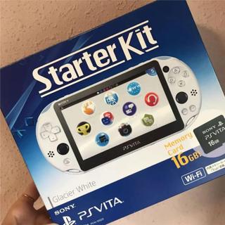 PlayStation Vita - PlayStation Vita Starter Kit グレイシャー・ホワイト