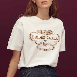 エルメス(Hermes)の2019 エルメス  Tシャツ 白 ホワイト GALA ガラ(Tシャツ(半袖/袖なし))