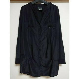 ムルーア(MURUA)のMURUA ブラックシャツ(シャツ/ブラウス(長袖/七分))