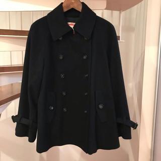 TOMORROWLAND - コート ネイビー ブラック (トゥモローランドにて購入)
