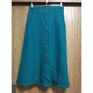ジーユー(GU)のジーユー GU スカート(ひざ丈スカート)