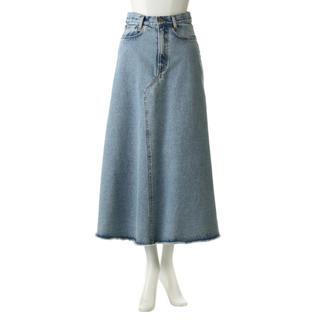 マディソンブルー(MADISONBLUE)の【新品・タグ付き】MADISONBLUE 5ポケット デニムロングスカート(ロングスカート)