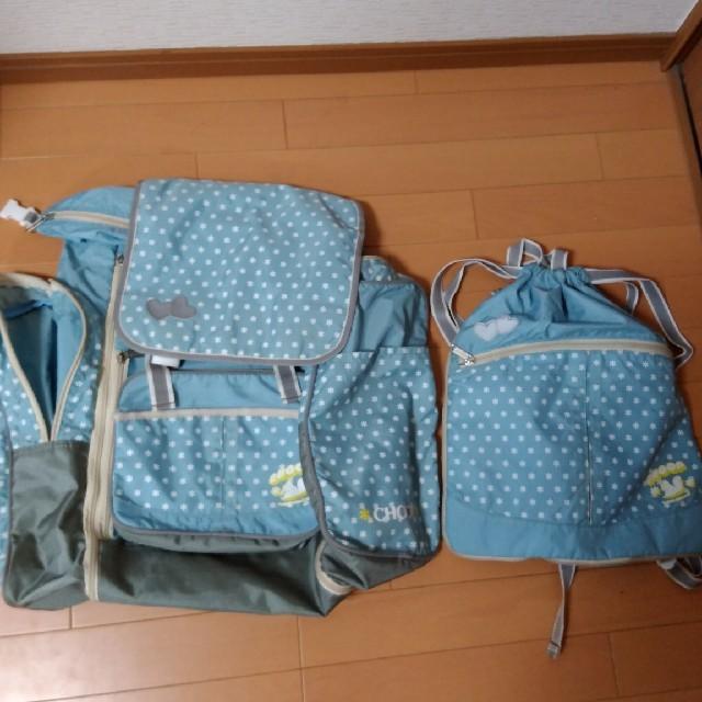 maami様ご専用!CHOOP☆リュックセット☆林間学校☆合宿 キッズ/ベビー/マタニティのこども用バッグ(リュックサック)の商品写真