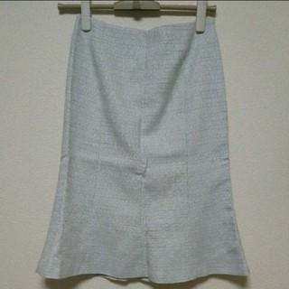 ミッシェルクラン(MICHEL KLEIN)の【未使用】スカート ☆ M ☆ バーゼエヌオボ(ひざ丈スカート)