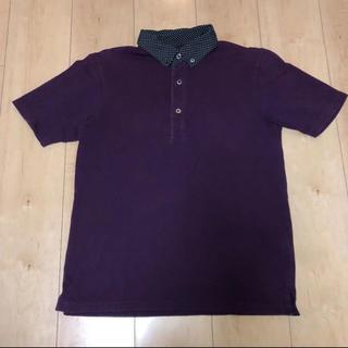 RAGEBLUE - メンズM★レイジブルー・半袖ポロシャツ パープル 紫・RAGEBLUE