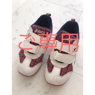 familiar - ファミリア スニーカー 靴 20センチ アシックス
