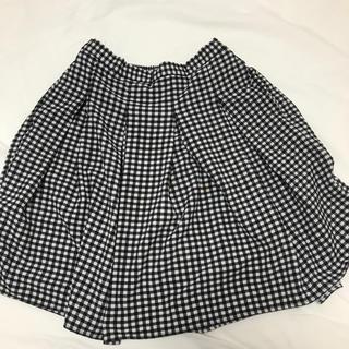ローリーズファーム(LOWRYS FARM)のギンガムチェック スカート(ミニスカート)