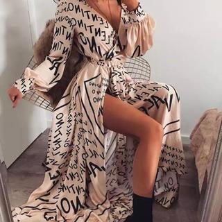 ザラ(ZARA)のロングワンピース 海外ファッション ロングワンピ ワンピ(ロングワンピース/マキシワンピース)
