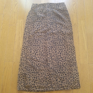 スライ(SLY)のSLY レオパードスカート(ロングスカート)