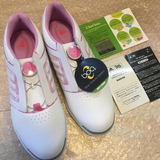 adidas - 【新品未使用】adidas(アディダス)レディースゴルフシューズ 24.5