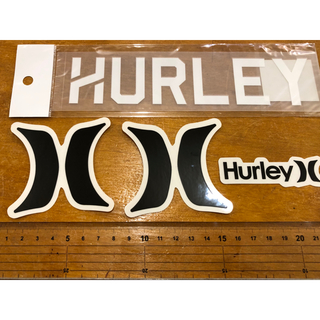ハーレー(Hurley)のHURLEYステッカーセット 新品未使用 全国送料無料(サーフィン)