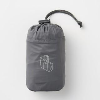MUJI (無印良品) - 新品 無印良品 パラグライダークロス たためるトートバッグ・グレー