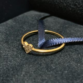 アーカー(AHKAH)のAHKAH アーカー ハートパヴェリング ダイヤ 新品 (リング(指輪))