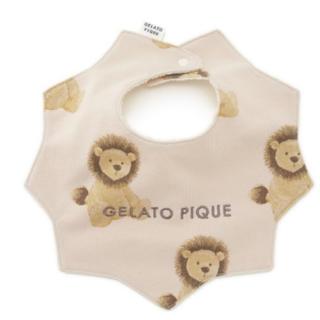 ジェラートピケ(gelato pique)の新品☆ 【BABY】ライオン baby スタイ(スタイ/よだれかけ)
