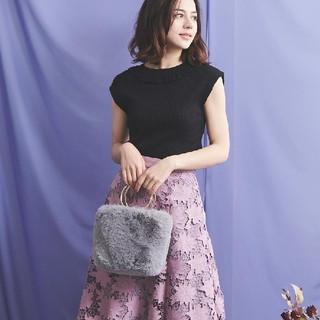 ノエラ(Noela)の※即日発送!Noela/ノエラ スエード刺繍レーススカート(ひざ丈スカート)