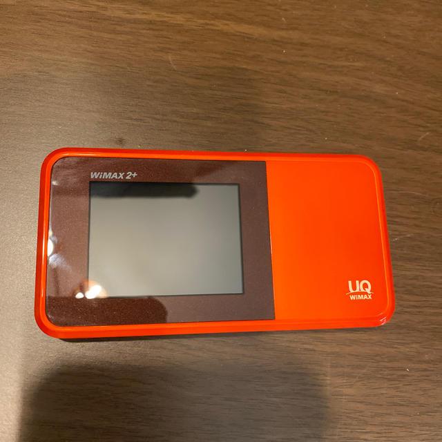 au(エーユー)のWiMAX 2+ W03 本体 スマホ/家電/カメラのPC/タブレット(PC周辺機器)の商品写真