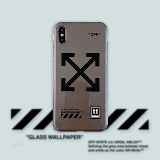 オフホワイト(OFF-WHITE)の斬新デザイン  オフホワイト  最新サイズ(iPhoneケース)