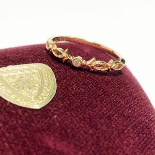 アガット(agete)のagete アガット K10 ティアラ ダイヤモンド リング 9号(リング(指輪))