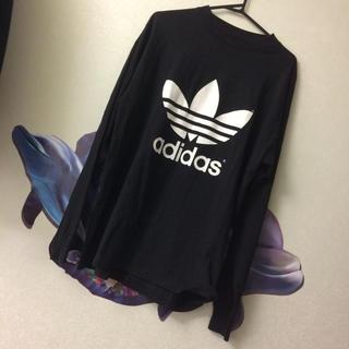 adidas - アディダス 両面プリント 90s ロンT