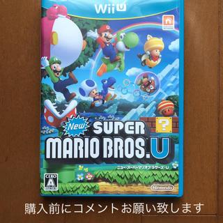 Wii U - New スーパーマリオブラザーズ U
