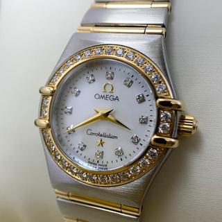 オメガ(OMEGA)のオメガ OMEGA コンストレーション 腕時計 18K SSコンビ レディース(腕時計)
