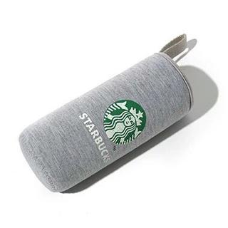 スターバックスコーヒー(Starbucks Coffee)の新品未使用 スターバックス ペットボトルカバー 1個 グレー保温 保冷(収納/キッチン雑貨)