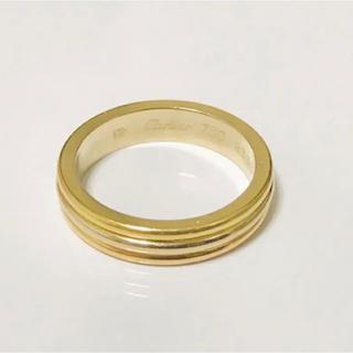 カルティエ(Cartier)のCartier スリーゴールドリング ♯7.5(リング(指輪))