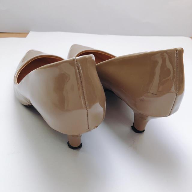エナメルパンプス レディースの靴/シューズ(ハイヒール/パンプス)の商品写真