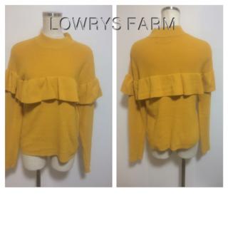 LOWRYS FARM - LOWRYS FARMのニット☆46808