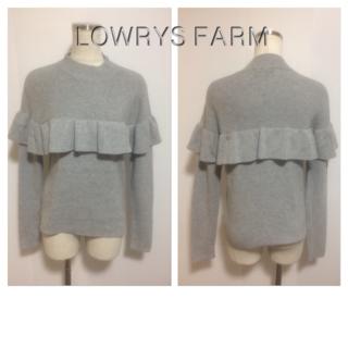 LOWRYS FARM - 美品☆LOWRYS FARMのニット☆46809