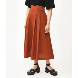 スライ(SLY)のSLY テラコッタ ハイウエストスカート Mサイズ(ロングスカート)