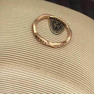 アガット(agete)のアガット ダイヤリング  K10(リング(指輪))