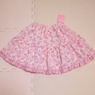 シャーリーテンプル(Shirley Temple)のシャーリーテンプル フラワースカート 120(スカート)