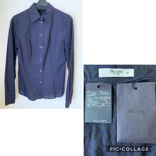 プラダ(PRADA)のプラダ コットンシャツ サイズ40 未使用(シャツ/ブラウス(長袖/七分))