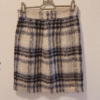 ミッシュマッシュ(MISCH MASCH)のMISCH MASCH ミッシュマッシュ チェック スカート(ひざ丈スカート)