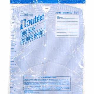 ジョンローレンスサリバン(JOHN LAWRENCE SULLIVAN)のdoublet 18aw プラスチック カバーシャツ(シャツ)