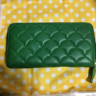ツモリチサト(TSUMORI CHISATO)のツモリチサト   長財布   緑(財布)