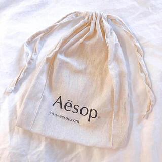 Aesop - 🌼新品 イソップ 巾着 きなり おしゃれ サブバッグ インスタ映え🌼
