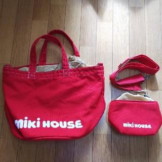 ミキハウス(mikihouse)のMIKI HOUSEトートバッグ&ポーチ(マザーズバッグ)