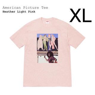 シュプリーム(Supreme)の定価以下 希少 XL supreme american picture tee(Tシャツ/カットソー(半袖/袖なし))