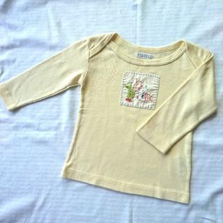 バーニーズニューヨーク(BARNEYS NEW YORK)の美品 バーニーズニューヨーク ベビー 80 85 トップス ロンT 長袖Tシャツ(シャツ/カットソー)