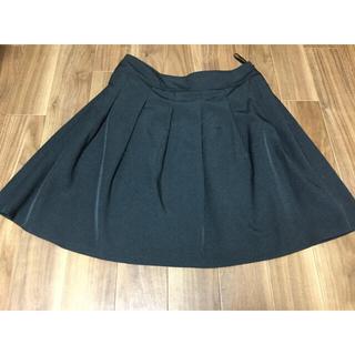 イマージュ(IMAGE)の黒×ストライプ  15号 スカート  image(スーツ)