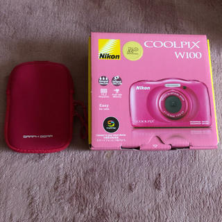 Nikon - ニコン、クールピクス(COOLPIX W100)