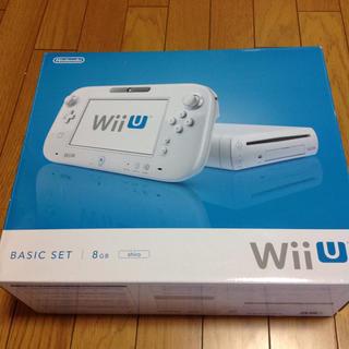 Wii U - 送料込 WiiU 本体 8G ベーシックセット shiro 白 説なし