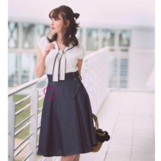 Rirandture - 【新品タグ付き】Rirandture☆レースアップカラースカート